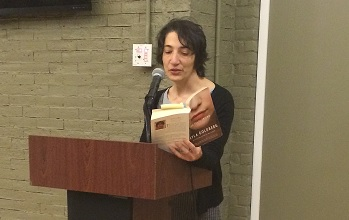 """CMSV's """"Writers at the Mount"""" Series Featuring Novelist Myla Goldberg in The Riverdale Press"""