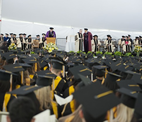 College of Mount Saint Vincent Hosts 102nd Commencement on May 17, 2014