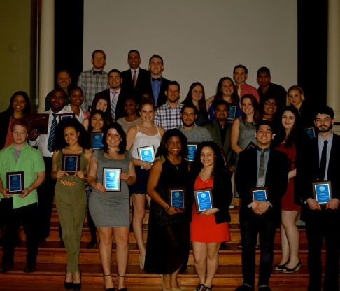 Division of Student Affairs Recognizes CMSV Students for Their Achievements in the 2013-2014 Academic Year