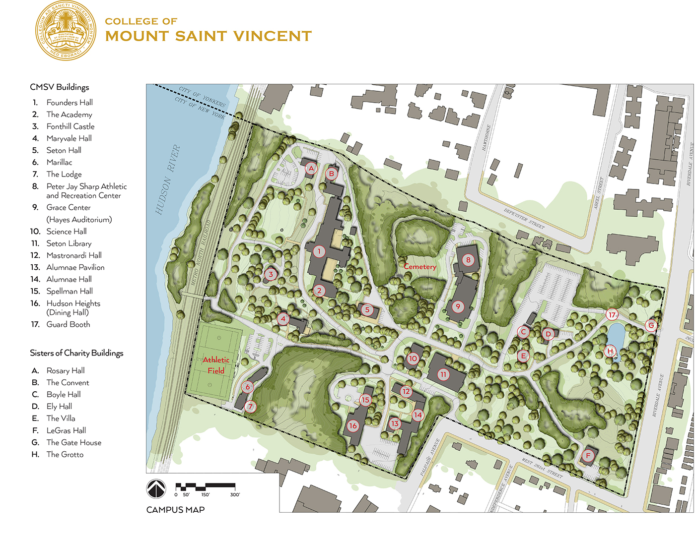 CampusMap2015Final - College of Mount Saint Vincent on