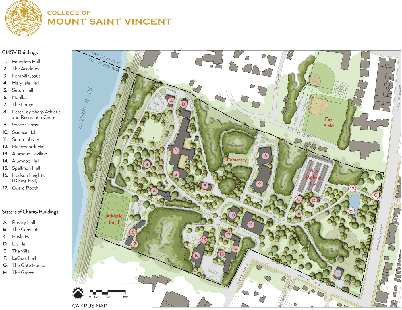 Map and Directions  College of Mount Saint VincentCollege of