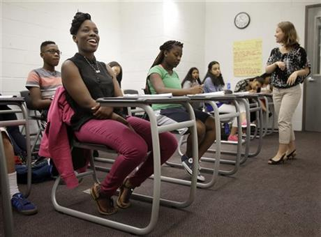 CMSV Hosts Upward Bound Summer Program, Featured in Associated Press Story