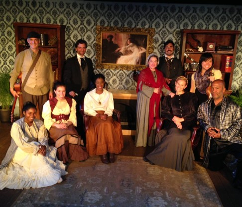 "Red Monkey Theater Group Opens 2014-2015 Season with ""Sherlock Holmes: The Adventure of the Speckled Band"""
