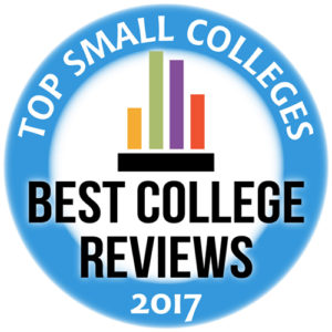 Best Small Colleges 2017 logo