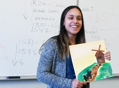 College of Mount Saint Vincent Student Ideline Gomez Awarded Benjamin A. Gilman International Scholarship to Study Abroad
