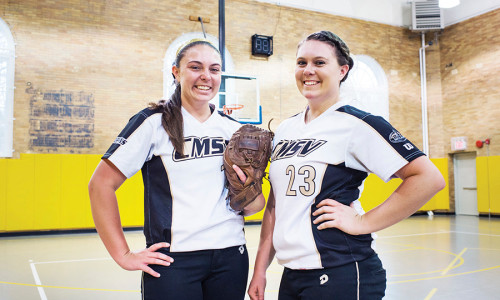 College of Mount Saint Vincent Softball Sisters Featured in The Riverdale Press
