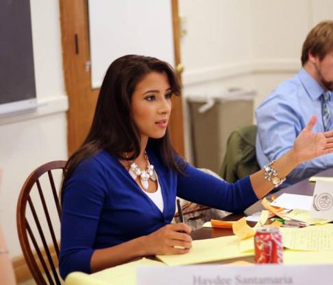 Model U.N. Team Debates at Five College Conference