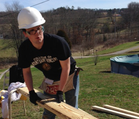 College of Mount Saint Vincent Students Devote Winter and Spring Breaks to Volunteering in Distressed Areas