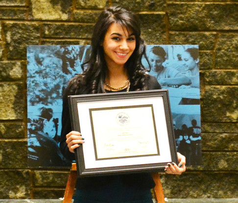 Mount Promotional Video Class Features CICU Award Winner Ciara Rosa '15