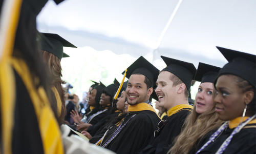 College of Mount Saint Vincent Hosts 103rd Commencement on May 23, 2015