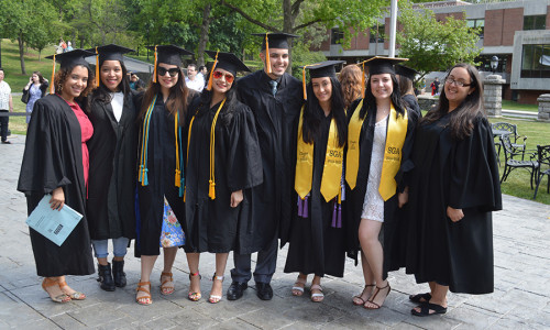 Mount Saint Vincent Students Inducted into National Honor Societies