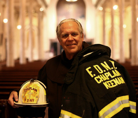 Mount Saint Vincent Chaplain Honored as FDNY Holy Name Society Man of the Year