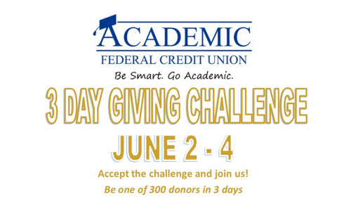 College of Mount Saint Vincent Three-Day <br>Giving Challenge
