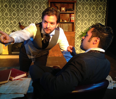 Red Monkey Theater Group Opens 2015-2016 Season with Sherlock Holmes: The Adventure of the Red-Headed League