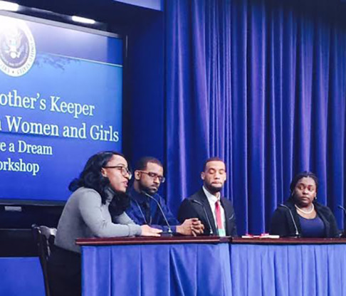 Mount Saint Vincent Student Leader Presents at White House