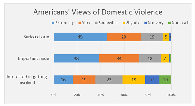 Americans' Views of Domestic Violence