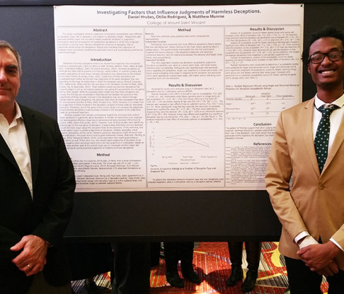 Students and Faculty Present Scholarly Work at Eastern Psychological Association Meeting