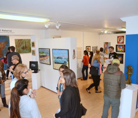 Mount Students Featured in Art Exhibition