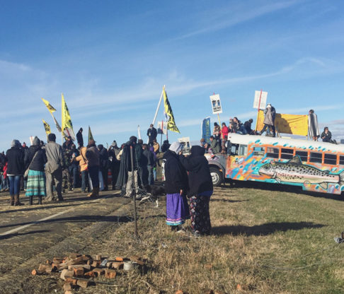 Graduate Students Join Fight for Justice at Standing Rock
