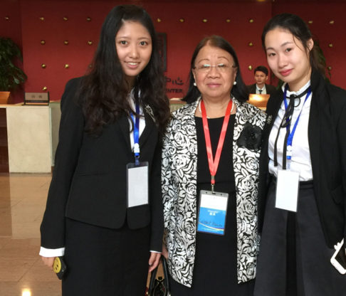 Mount Faculty Presents at International Business School Dean's Forum in Zhuhai, China