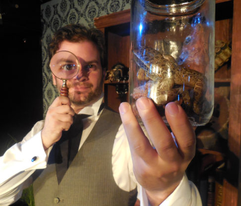 Red Monkey Theater Group Presents <i>Sherlock Homes: The Final Problem</i>