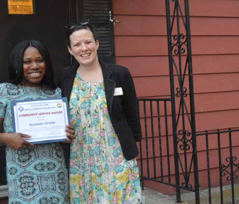 Nursing Alumna Receives Bronx Community Service Award