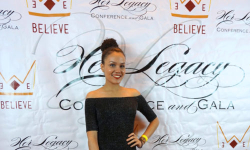 Katherine Perez '19 Presents at Her Legacy Conference and Gala