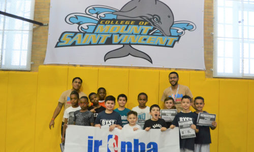 Be You Stay True Hosts Jr. NBA Skills Challenge
