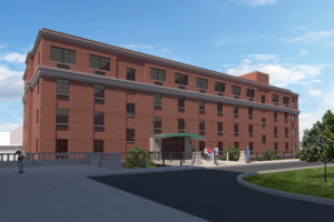 Rendering of new Mount Saint Vincent residence hall.