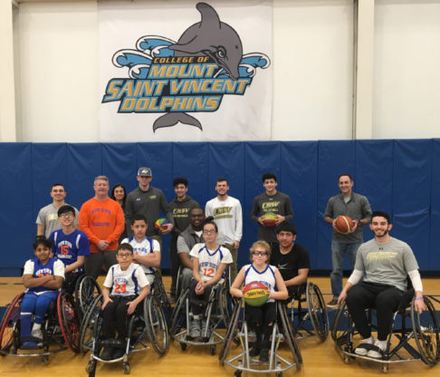 Mount Athletes, Wheelchair Sports Federation Team Up