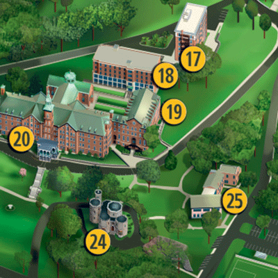 Map and Directions - College of Mount Saint Vincent