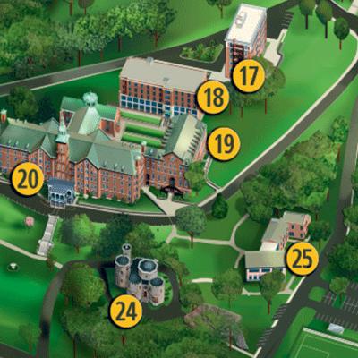 st vincent college campus map Campus Map March 2019 Final Mini Final College Of Mount Saint