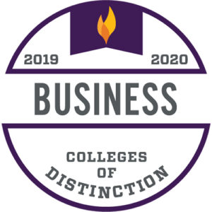 Colleges of Distinction logo Business 2019-2020