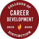 Colleges of Distinction logo Career Development 2019-2020