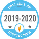 Colleges of Distinction logo 2019-2020