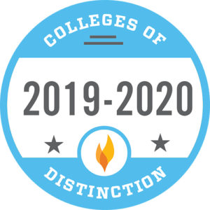 Colleges of Distinction logo 2019-2019
