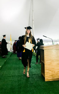 Valedictorian Emily Ott '19