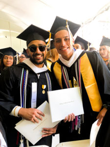 Two 2019 graduates.
