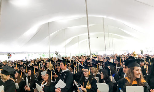 Mount Hosts 107th Commencement