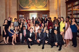 Students invited at the Scholarship Tribute Dinner 2019