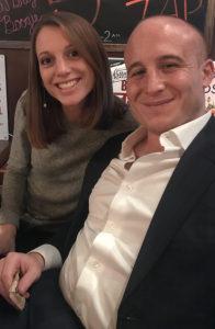 Jennifer Blatus '11 with Max Rose