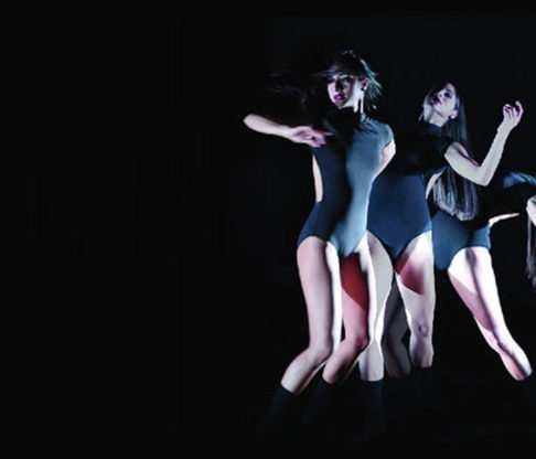 "Mount's In-Residence Dance Group Runs the ""Gamme"""