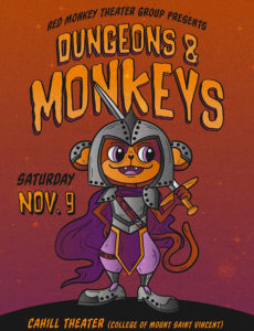 Dungeons & Monkeys poster