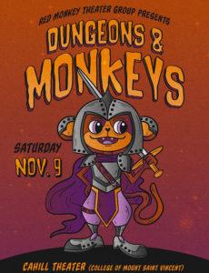 Dungeons & Monkeys poster