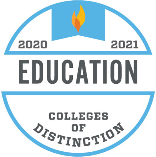 Colleges of Distinction logo Education 2019-2020