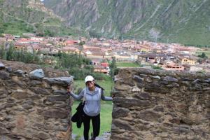 Jennifer Puac in Ecuador.