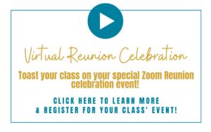 Virtual Reunion Celebration Zoom