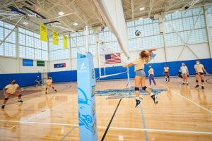 Women's Volleyball practice