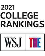 2021 College Rankings WSJ badge