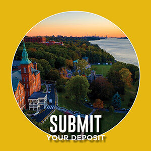 """Button saying """"Submit Your Deposit"""""""